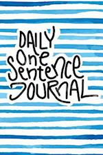 Daily One Sentence Journal