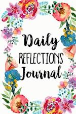 Daily Reflections Journal