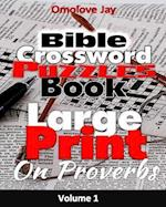 Large Print Bible Crossword Puzzle Book