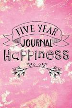 Five Year Journal Happiness