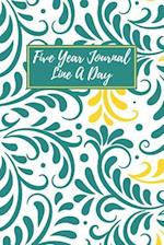 Five Year Journal Line a Day