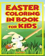 Easter Coloring in Book for Kids