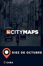 City Maps Diez de Octubre Cuba