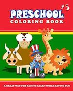 Preschool Coloring Book - Vol.5