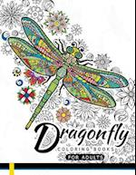 Dragonfly Coloring Books for Adults