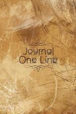 Journal One Line