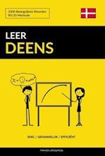 Leer Deens - Snel / Gemakkelijk / Efficient
