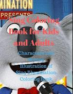 Sing Coloring Book for Kids and Adults