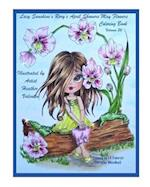 Lacy Sunshine's Rory's April Showers May Flowers Coloring Book Volume 36