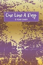 One Line a Day 5 Year Diary