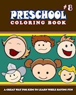 Preschool Coloring Book - Vol.8
