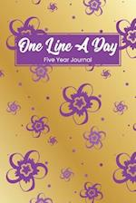 One Line a Day Five Year Journal