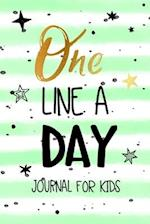 One Line a Day Journal for Kids