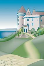Journal Castle Drawing Lake Stone Road Fairy Tale Medieval Historical