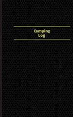 Camping Log (Logbook, Journal - 96 Pages, 5 X 8 Inches)