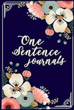 One Sentence Journals