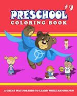 Preschool Coloring Book - Vol.9