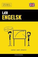 Laer Engelsk - Hurtigt / Nemt / Effektivt