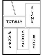 Totally Blank Manga Comic Book