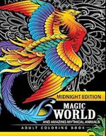 Magical World and Amazing Mythical Animals Midnight Edition