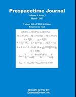 Prespacetime Journal Volume 8 Issue 3