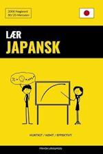 Laer Japansk - Hurtigt / Nemt / Effektivt
