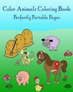 Color Animals Coloring Book