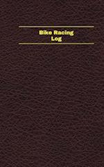 Bike Racing Log (Logbook, Journal - 96 Pages, 5 X 8 Inches)