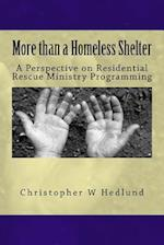 More Than a Homeless Shelter