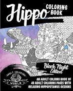Hippo Coloring Book