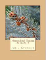 Homeschool Planner 2017-2018 for 1 Student