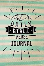 Daily Bible Verse Journal