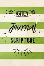 Daily Journal Scripture