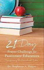 21 Day Prayer Challenge for Passionate Educators