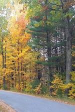 Journal Pretty Fall Colors Country Road