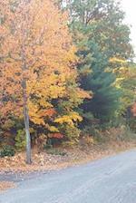 Journal Rural Road Rustic Fall Colors