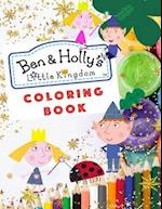 Ben & Holly's Little Kingdom Coloring Book