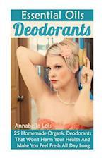 Essential Oils Deodorants