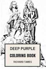 Deep Purple Coloring Book