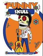 Funny Skull Coloring Book for Adults