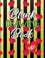 Blank Drawing Book Kids
