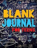 Blank Journal for Teens