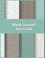 Blank Journal Not Lined