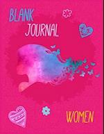 Blank Journal Women