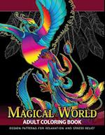 Magical World Adult Coloring Books