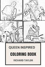 Queen Inspired Coloring Book