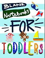 Blank Notebooks for Toddlers