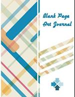 Blank Page Art Journal