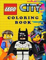 Lego City Coloring Book
