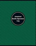Amateur Radio Operator Log (Logbook, Journal - 126 Pages, 8.5 X 11 Inches)